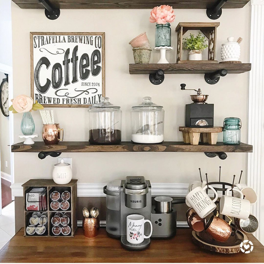 You Ll Love These Coffee Bar Ideas For The Home 2020 Swankyden Com