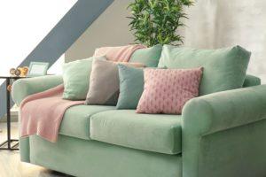 Mint Green Sofa