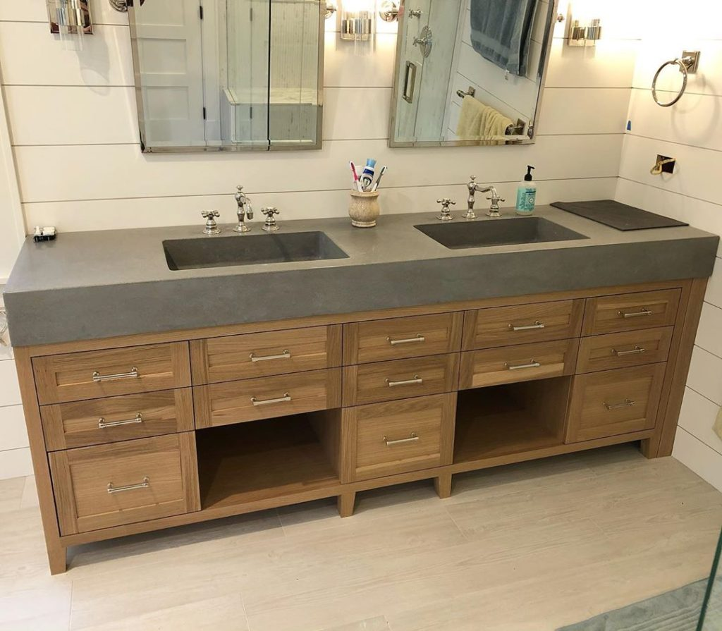 Large bathroom cabinet ideas with many cabinets in a bathroom vanity