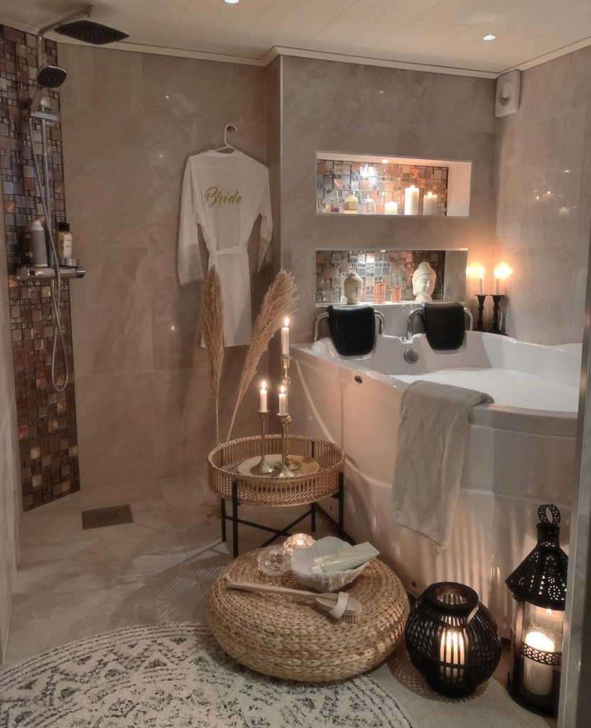 jacuzzi bath tub idea