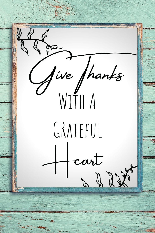 Free Thanksgiving style printable