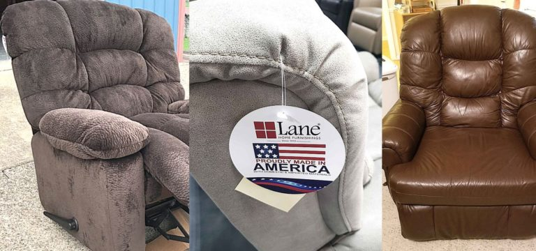 various lane recliners being tested and reviewed