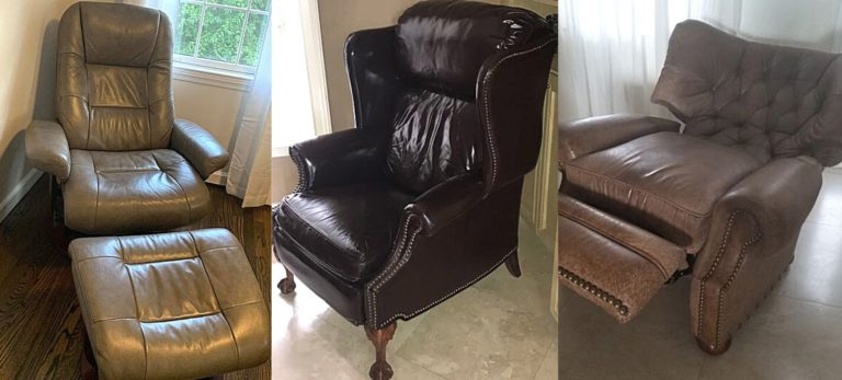 barcalounger recliners and chairs side by side being reviewed