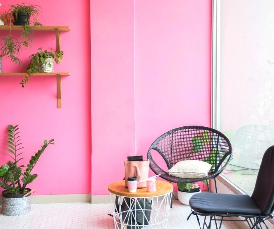 make room bigger with color saturation