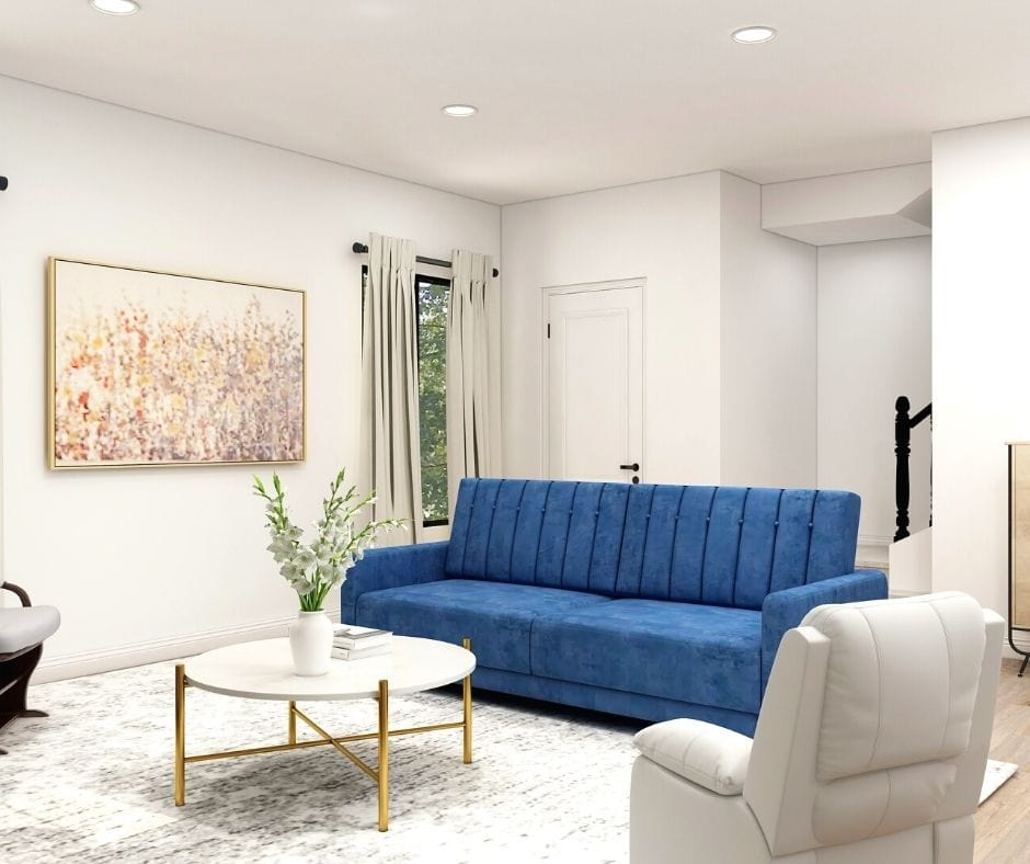 make a living room look bigger