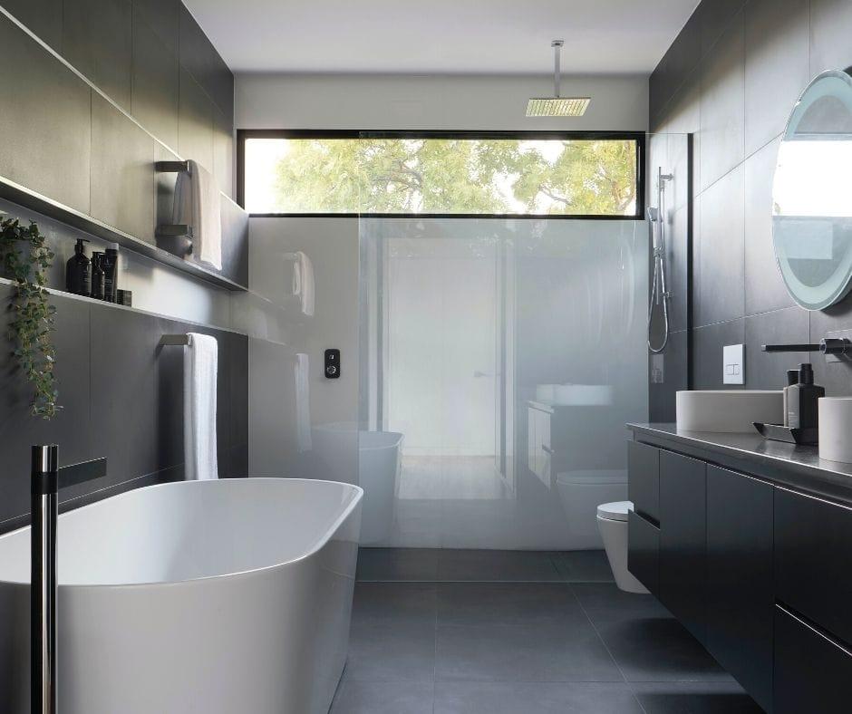 make bathroom bigger