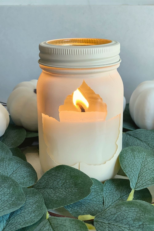 diy fall candles