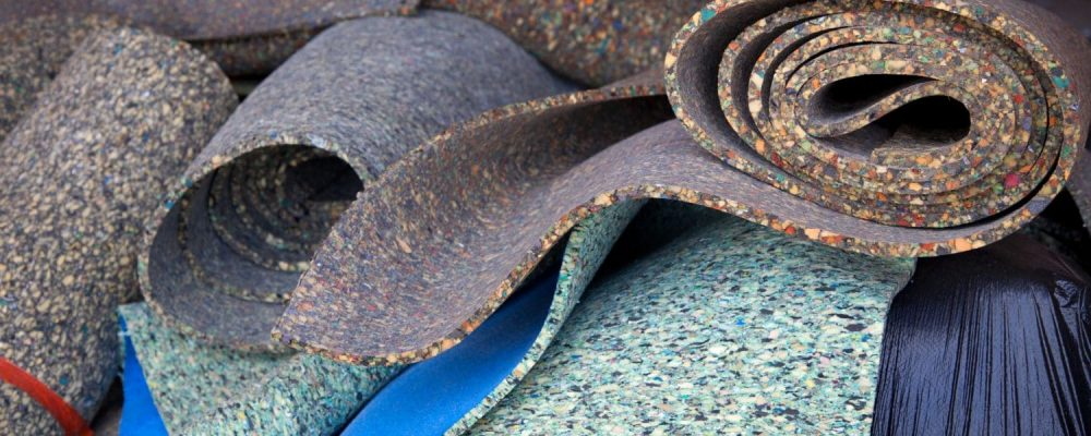 group of rug pads